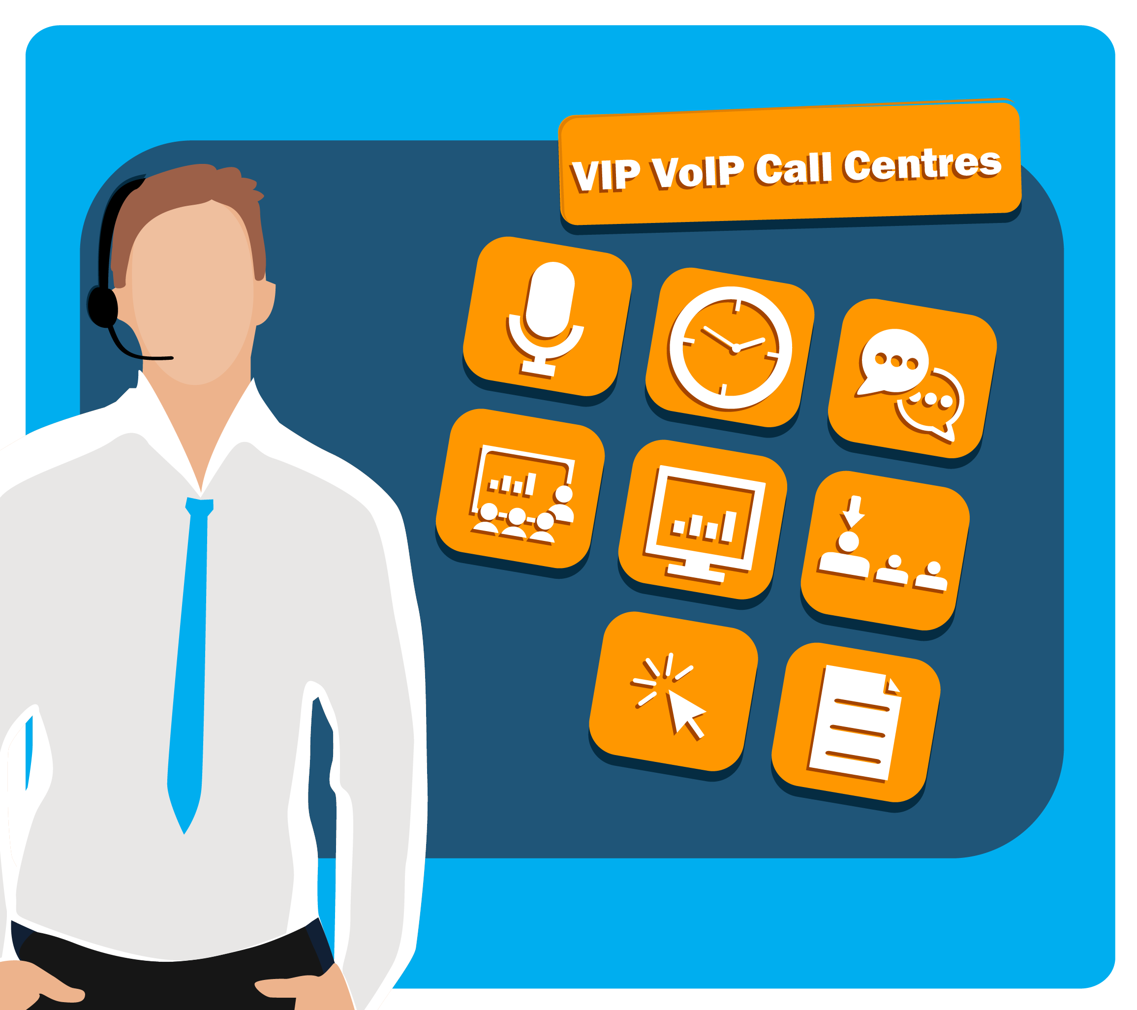 VIP VoIP Call centres benefits