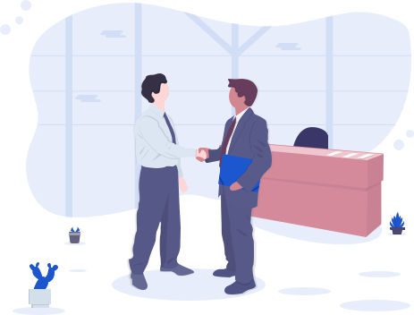 business men shaking hands in an office for VoIP Reseller specialists VIP VoIP