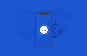 Debunking 5G Myths - A mobile phone with a 5G logo on the screen