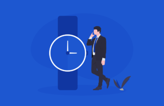 Become A VoIP Provider - Image of a man on a phone in front of a watch